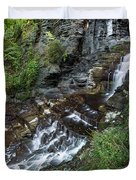Cascadilla Falls Creek Gorge Trail Giant's Staircase Duvet Cover