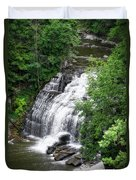 Cascadilla Waterfalls Cornell University Ithaca New York 03 Duvet Cover