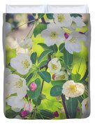 Cascading Flowers Duvet Cover