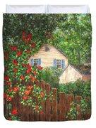 Cascading Roses Duvet Cover