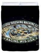 Case Threshing Machine Co Duvet Cover