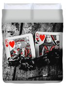 Casino Hot Streak  Duvet Cover