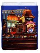 Casino Royale Duvet Cover
