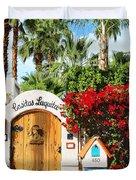 Casitas Laquita Palm Springs Duvet Cover