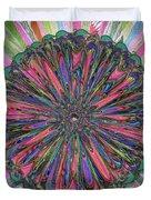 Cassandra -- Floral Disk Duvet Cover