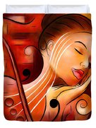 Casselopia - Violin Dream Duvet Cover