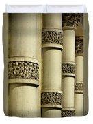 Cast Iron Columns Duvet Cover
