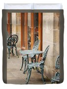 Cast Iron Garden Furniture Duvet Cover