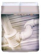 Cast Iron Plumbing Duvet Cover
