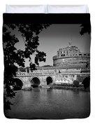 Castel Sant'Angelo.Roma. Tiber river Duvet Cover for Sale ...