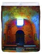 Castillo De San Marcos Chapel Duvet Cover