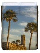 Castillo De San Marcos Dawn II Duvet Cover
