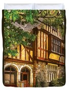 Castle - Castle IIi Duvet Cover by Mike Savad