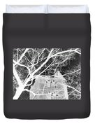 Castle At Night Duvet Cover