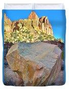 Castle Boulder Duvet Cover