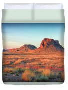 Castle Butte Duvet Cover