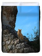 Castle Cat Duvet Cover