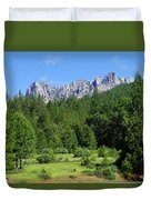 Castle Crags Duvet Cover
