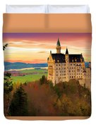 Castle Dawn Duvet Cover