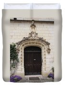 Castle Entrance Door Duvet Cover