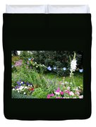 Castle Garden In Germany Duvet Cover