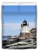 Castle Hill Lighthouse Newport Rhode Island 1 Duvet Cover