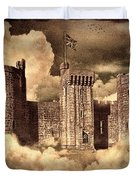 Castle In The Clouds Duvet Cover