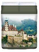 Castle In The Mist Duvet Cover