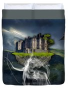 Castle In The Sky Art Duvet Cover