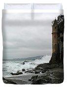 Castle Laguna Beach  Duvet Cover