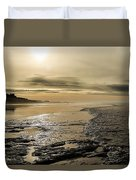 Castle On The Shore Duvet Cover