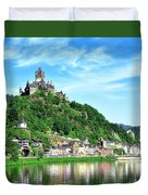 Castle Reichsburg Duvet Cover