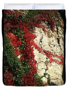 Castle Vines Duvet Cover