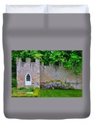 Castle Wall At The Highlands Duvet Cover