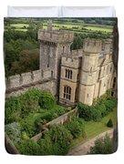Castle Within A Frame Duvet Cover