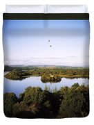 Castleisland Lough Key Forest Park Duvet Cover