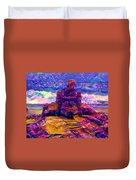 Castles In The Sand Cs-1a Duvet Cover