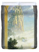 Castles In The Sky Duvet Cover