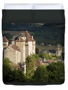 Castles Of Curemonte Duvet Cover