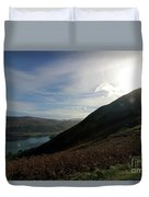 Cat Bells In Cumbria Uk Duvet Cover