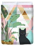 Cat Collage Duvet Cover