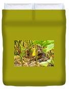 Cat In Field Duvet Cover