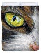 Cat In Pastel Duvet Cover