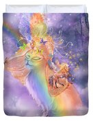 Cat In The Dreaming Hat Duvet Cover