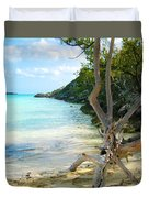 Cat Island Cove Duvet Cover