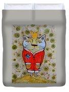 Cat-king Duvet Cover