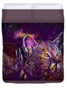 Cat Kitten Mieze Tiger Cat  Duvet Cover