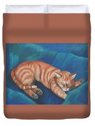 Cat Napping Duvet Cover