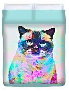 Cat Picture Duvet Cover
