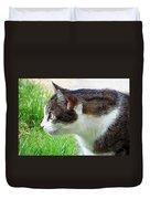 Cat Profile Duvet Cover